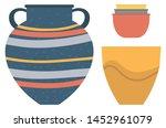 Pottery Kitchenware  Vase  Cla...