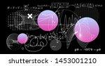 abstract scientific background... | Shutterstock .eps vector #1453001210