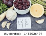 natural food for healthy... | Shutterstock . vector #1453026479