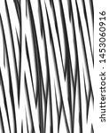 2d white and black   line...   Shutterstock .eps vector #1453060916