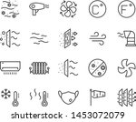 set of air icons  such as air... | Shutterstock .eps vector #1453072079