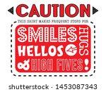 elementary school t shirt... | Shutterstock .eps vector #1453087343