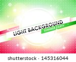 abstract blurred green and pink ... | Shutterstock .eps vector #145316044