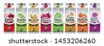 ready design vector juice ... | Shutterstock .eps vector #1453206260
