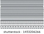 divider lines. collection of...   Shutterstock .eps vector #1453206266