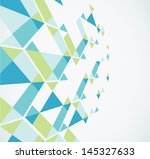 geometric abstract background.... | Shutterstock .eps vector #145327633
