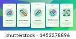 design tools vector onboarding... | Shutterstock .eps vector #1453278896