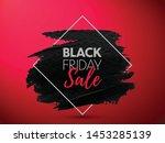 black friday sale banner....   Shutterstock .eps vector #1453285139