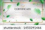 gift certificate vector... | Shutterstock .eps vector #1453291466