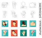 vector illustration of hospital ...   Shutterstock .eps vector #1453346390