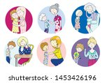 these different moms....   Shutterstock .eps vector #1453426196