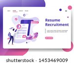 landing page resume recruitment ...