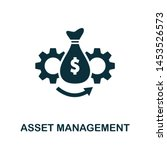 asset management vector icon... | Shutterstock .eps vector #1453526573