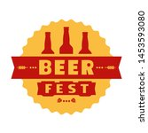 beer fest hand drawn flat color ...