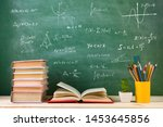 education and reading concept   ... | Shutterstock . vector #1453645856