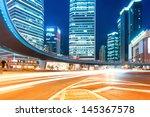 shanghai lujiazui finance and...   Shutterstock . vector #145367578