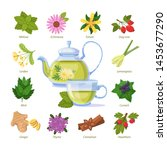 Herbal Green Tea A Cup. Health...