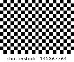 Black and White Squares. Vector. - stock vector