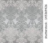 damask seamless pattern for... | Shutterstock .eps vector #145369426
