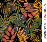 trending abstract seamless...   Shutterstock .eps vector #1453706273
