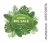 summer sale banner template....   Shutterstock .eps vector #1453720076