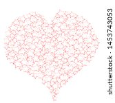 i love you.romantic scene with...   Shutterstock .eps vector #1453743053