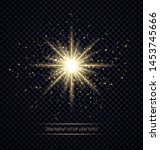 Light Flare Effect Isolated On...