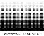 dots background. monochrome... | Shutterstock .eps vector #1453768160