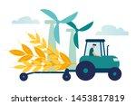 vector illustration  a process... | Shutterstock .eps vector #1453817819