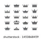 set of crown icons. collection... | Shutterstock .eps vector #1453868459