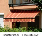 Colorful Canvas Awning In...