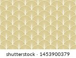 luxury art deco seamless... | Shutterstock .eps vector #1453900379