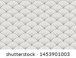 vector abstract arabesque... | Shutterstock .eps vector #1453901003