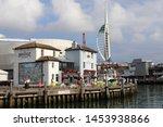 portsmouth  hampshire  england... | Shutterstock . vector #1453938866