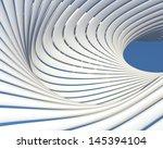 creative modern architecture... | Shutterstock . vector #145394104