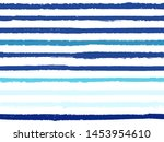 hand drawn striped seamless... | Shutterstock .eps vector #1453954610