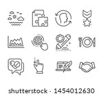 set of business icons  such as... | Shutterstock .eps vector #1454012630