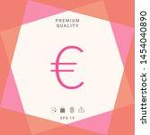euro symbol icon. graphic...   Shutterstock .eps vector #1454040890