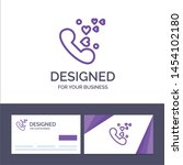 creative business card and logo ... | Shutterstock .eps vector #1454102180