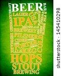 beer ad | Shutterstock . vector #145410298
