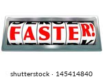 The Word Faster On A...