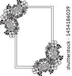 beautiful shapes of frames ... | Shutterstock .eps vector #1454186039