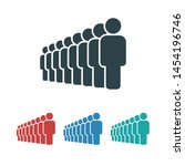 people vector icon. person... | Shutterstock .eps vector #1454196746