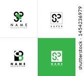 letter s logo icon vector... | Shutterstock .eps vector #1454236979