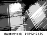 grunge black and white abstract ... | Shutterstock . vector #1454241650