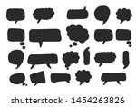 hand drawn set of colorful... | Shutterstock .eps vector #1454263826