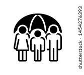 vector black icon for life... | Shutterstock .eps vector #1454276393