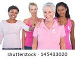 supportive group of women... | Shutterstock . vector #145433020