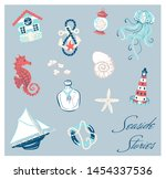 Hand Drawn Set Of Elements In...