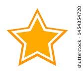 star icon. flat illustration of ...   Shutterstock .eps vector #1454354720
